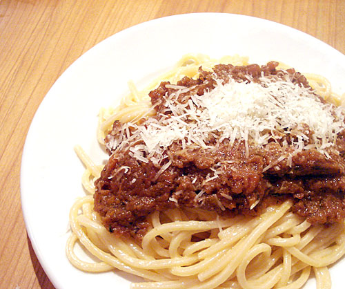 how to make the perfect spaghetti bolognese