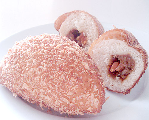 There's a whole category of breads in Japan called okazu pan . Okazu ...
