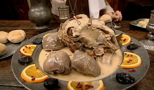 elizb-sheepheadElizabethan Era Food