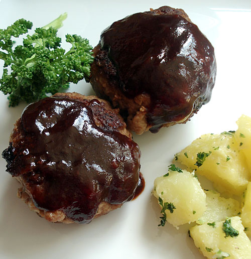 salisbury steak steak hash tony s steak hamburg steak hambagu ...