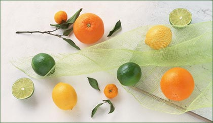 oranges, lemons, limes