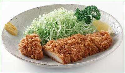 tonkatsu, Japanese deep fried pork cutlet
